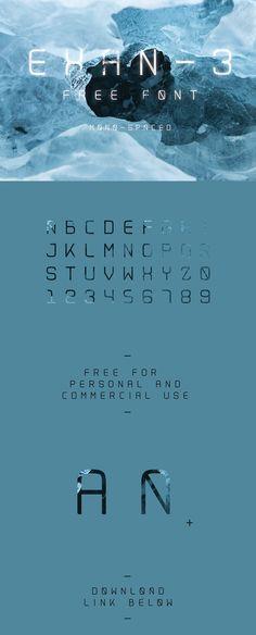 Exan-3 // Free Font on Behance