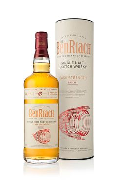 BenRiach Launches First-ever Cask Strength Batch