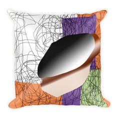 This soft pillow is an excellent addition that gives character to any space. It comes with a soft polyester insert that will retain its shape after many uses, a Soft Pillows, Throw Pillows, Squares, Things To Come, Cushions, Bobs, Decorative Pillows, Decor Pillows, Scatter Cushions