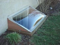 Window Bubble window well covers for wood or masonry basement window wells. Each cover is custom made to fit each window well and is easy to install. Basement Window Well Covers, Basement Windows, Wood Windows, Custom Windows, Basement Flooring, Basement Window Coverings, Basement Apartment, Basement Bedrooms, Basement Bathroom