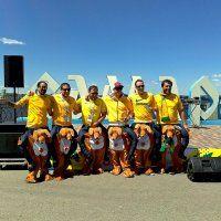Прискакали на кенгуру болельщики Австралии в Самару 21.06.18 :: MILAV V