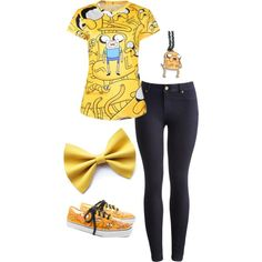 Jake From Adventure Time by smilelikeyoucan on Polyvore featuring Joules