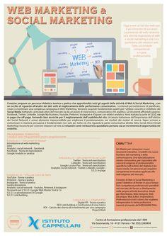 #volantino #depliant #flyer progettazione  #grafica per #corso #web #marketing #Ferrara