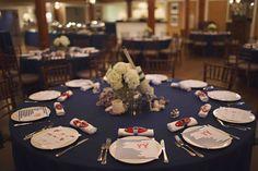 Coastal Tablescape  Photography: Justine Ungaro Read More: http://www.insideweddings.com/weddings/charming-lobster-bake-rehearsal-dinner-in-nantucket-massachusetts/554/