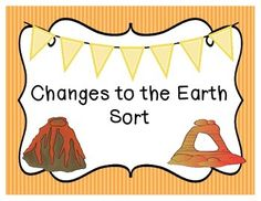 fast and slow changes to earths surface kids learning animation changes to the earth sort sciox Gallery