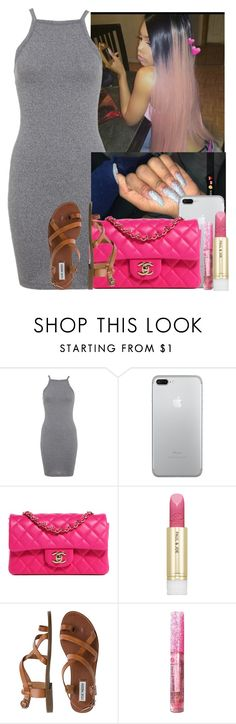 """""""✨✨✨"""" by saucinonyou999 ❤ liked on Polyvore featuring Miss Selfridge, Chanel, Paul & Joe and Steve Madden"""
