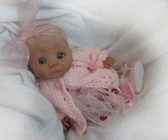 polymer clay babies | Polymer Clay | ooak babies | Pinterest