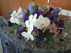 orchid centerpiece  mfdesigns