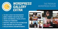 WordPress Gallery Extra . WordPress Gallery Extra is a powerful and responsive WordPress gallery plugin, expertly designed to showcase your images in the most beautiful and authentic way. Whether you specialize in capturing magical wedding days, creative designs and innovations, expressive portraits, extraordinary
