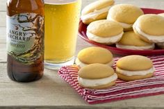 Mini Cider Whoopie Pies with Angry Orchard Crisp Apple
