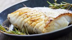 Fried Fish Fillet Atlantic Cod Rosemary Stock Photo (Edit Now) 266014253 Crockpot Recipes, New Recipes, Healthy Recipes, Cooking Salmon Fillet, Air Fryer Fish Recipes, Pan Fried Fish, Healthiest Seafood, Lactation Recipes, Grilled Shrimp