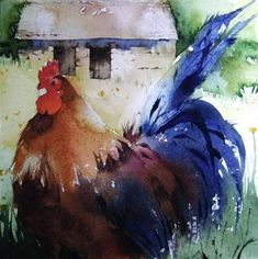 Akvarellkurs med Kate Osborne, England