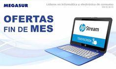 Ofertas fin de mes en Megasur con el portátil HP 15-AY089NS