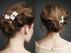 Tiny Wedding HairPins