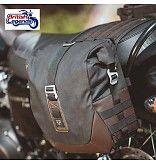 Canvas Saddlebag for Triumph motorcycles - British Legends