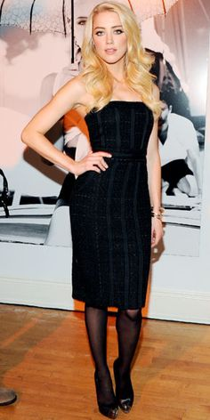 Amber Heard in Guess by Marciano