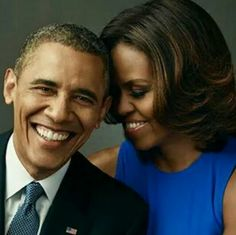 Barack and Michelle Obama - They really care about each other just as they really care about The People...