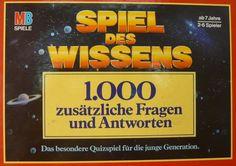 Spiel des Wissens: 1000 zusätzliche Fragen