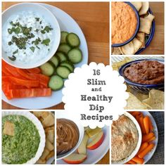 A great collection of low fat dip recipes, easy, healthy, delicious, with calories and Weight Watchers Points Plus, some are simply filling too