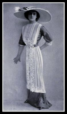 1912 Edwardian Fashion - 10 by CharmaineZoe, via Flickr