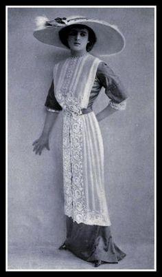 1912 Edwardian  Fashion - 10 by CharmaineZoe, via Flickr