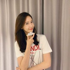 190904 YoonA - Congratulatory photo for EXIT's 9 million audience cr CJENMMOVIE HQ: Link EXIT achieved 9 million audience in the evening of the day since release! Yoona Snsd, Sooyoung, Kpop Girl Groups, Kpop Girls, Im Yoon Ah, Walk To Remember, Movie Blog, 1 Girl, Korean Actresses