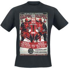 Deadpool Vs Deadpool - T-Shirt by Deadpool