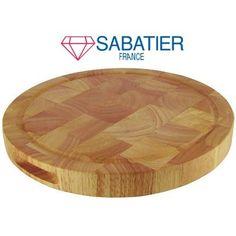 Snijplank hout rond Diamant Sabatier 30 cm aktie