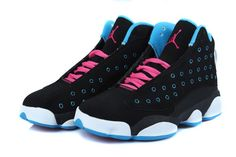 Girls-Air-Jordan-13-Black-Dynamic-Blue-Pink-for-sale-4.jpg (800×534)