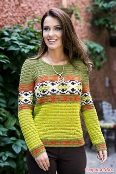 Free and Best Crochet Sweater Patterns for beginners 2020 Part 27 ; knitting sweaters for beginners; knitting sweaters for women Crochet Jumper, Sweater Knitting Patterns, Crochet Blouse, Cardigan Pattern, Knit Dress, Knit Crochet, Crochet World, Wool Sweaters, Knitting Sweaters
