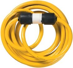 Yellow Jacket 1493 10/4 Heavy-Duty STW 30-Amp/250-Volt Generator Power Cord, 25-Feet by Yellow Jacket. $106.75. From the Manufacturer                Yellow Jacket 1493 10/4 Heavy-Duty STW 30-Amp/250-Volt Generator Power Cord, 25-Feet. Yellow jacket is 3 times as abrasion resistant as standard vinyl. Twist-to-lock plugs keeps cords connected. Powers 30-amp portable generators and power transfer switches. Suitable for commercial, industrial and residential applications. Meets OS...