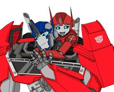 This is a request done for Ninja-FormersJunkieof her OC Lily and her adoptive father Optimus Prime. I tried to depict a sweet father-daughter moment just like I depicted a loving husband-wife...
