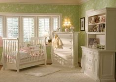Green Yellow Baby Room Beautiful Babies Nursery Ideas Decor