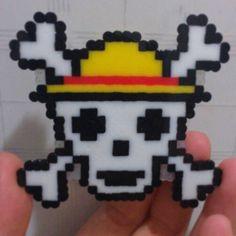 One Piece hama beads by hjhjiaohua