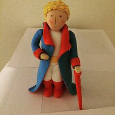 little prince fondant cake topper by SanyasCakeDecoration on Etsy