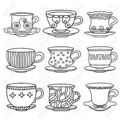 tazas de te vintage - Buscar con Google