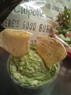 Guacamole (I love the Chipotle restaurant's version the best - here's the recipe).