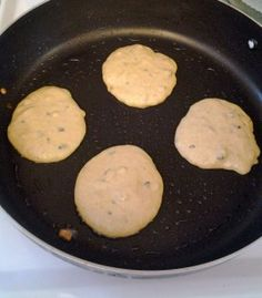 Chick Pea Flour Pancakes | Hiit Blog Note-use pumpkin instead of banana to make lower carb.