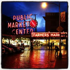 Pike Place Market. Seattle