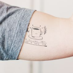 Tattly Designy Temporary Tattoos - Oh, Delicious Coffee