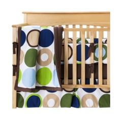 Sweet Jojo Designs Designer Dot 9 pc. Crib Bedding Set Quick Information
