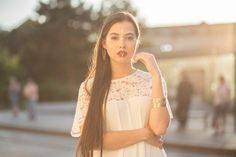 Photo: Majka Badinská #portrait #asian #european
