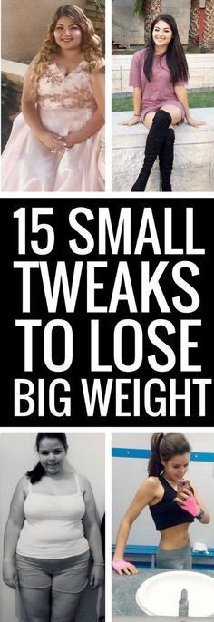 15 smallest changes to lose the biggest weight. | Posted By: AdvancedWeightLossTips.com