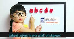 Role of #Education in children development.