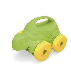 Green Toys Turtle-on-Wheels, Green/Yellow Green Toys http://www.amazon.com/dp/B00IL7IHI6/ref=cm_sw_r_pi_dp_gv3-vb0DMSVPP