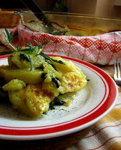 frommarysity: Zapekané zemiaky so špenátom