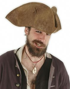 Scallywag Pirate Costume Hat - Pillage your next party in this Scallywag  formed tricorn. The 9f6f0185fea7