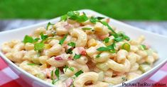 Sweet 'N Creamy Macaroni Salad Recipe