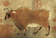 唐-韩滉-五牛图5 by China Online Museum - Chinese Art Galleries, via Flickr