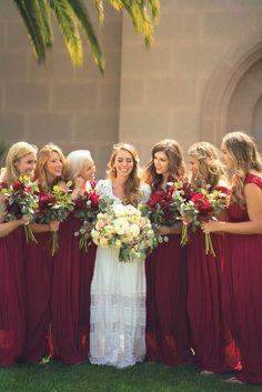 Bridesmaids candid shot – Newport Temple, Wedding Photography